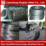 Q195 стальной провод штанга свертывает спиралью сталь 6.5mm Od
