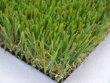 Hierba falsa de mirada natural del césped artificial comercial del jardín (GS)