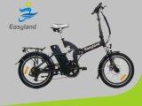 20 bicicleta plegable eléctrica de la pulgada 250W