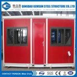 強制収容所のための中国の供給の容器の家かオフィスまたは労働者の調節またはアパート