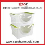 Bandeja da injeção/molde plásticos da cesta