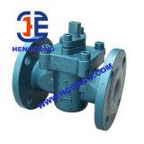 Valvola a rubinetto della flangia dell'attrezzo dell'acciaio di getto industriale di API/DIN/acciaio inossidabile