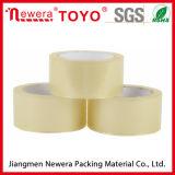 Bande adhésive blanche/claire de vente chaude de qualité de roulis enorme d'emballage