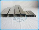 Pipes rectangulaires d'acier inoxydable pour la rambarde