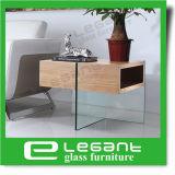 Mdf-seitlicher Tisch im Aschen-Holz-Furnier-Blatt