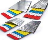 волна толщины 0.14-0.8mm/профиль/шаг коробки лист плитки стальной/толь металла