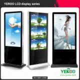 Kundenspezifische unabhängige bekanntmachende Digital-Kiosk-Innenbildschirmanzeige