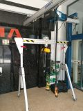 Grue de portique 500kg portative en aluminium européenne