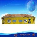 A alta qualidade 75dB G/M WCDMA Dual repetidor móvel do sinal da faixa
