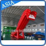 Personalizar a corrediça de flutuação inflável do iate da corrediça longa vermelha para a venda