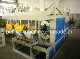 Máquina semiautomática de Socketing del tubo del PVC del plástico