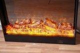 Muebles aprobados del hotel de la chimenea de la base de horno eléctrico del MDF LED del Ce (T-304)