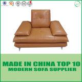L Form-Büro-Leder-Sofa-Bett