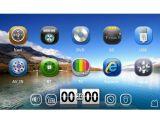 Auto GPS-DVD-Spieler mit Fernsehapparat 3G RDS iPod