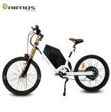 Grand vélo électrique du pouvoir 2000W de pivot sans frottoir