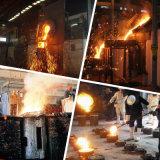 fornalha de derretimento de aço média da indução da freqüência 1000kg de 800kw Kgps
