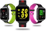 La forme physique folâtre le bracelet intelligent avec l'écran couleur