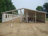 Geschweißtes h-Stahlrahmen-Huhn-Haus für Geflügel