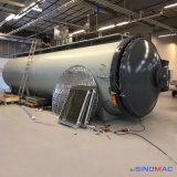 forno cheio dos compostos da automatização de 3000X6000mm para curar as peças dos aviões
