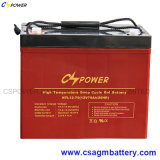 Batterie profonde 12V 75ah de gel de cycle scellée par application de Solar/UPS