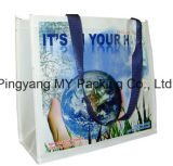 Os PP relativos à promoção baratos tecidos imprimiram o saco de compra plástico Recyclable