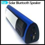 Mini altavoz portable de Bluetooth con solar de radio del despertador FM accionado