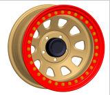 Beadlockの鋼鉄車輪は15X10jに縁を付ける