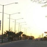 Iluminação de rua do diodo emissor de luz do excitador 120lm/W 120W do poço do meio do UL Dlc Lm79