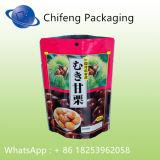 El acondicionamiento de los alimentos se levanta la bolsa de plástico de la bolsa para la carne, cerdo, carne de vaca, alimento de mar