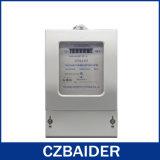 Mètre statique triphasé d'énergie (mètre électronique, mètre de KWH) (DTS2111)
