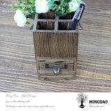 Hongdao Bleistift-Vasen-hölzerner Kasten Cheap_F