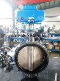 Oblate-Drosselventil mit Viton Sitzelektrischem Stellzylinder