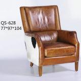 호텔을%s 덮개를 씌운 가죽 소파 의자, 여송연 바 의자 (628)