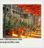5つの繊維の鋼片の連続鋳造機械