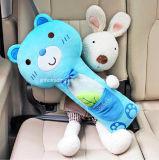 Pista de hombro cómoda de la almohadilla de la cubierta del cinturón de seguridad de coche de la pelusa de la historieta, buen regalo promocional
