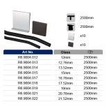 Aluminiumu-profilstäbeglassystem für Glasbalustrade