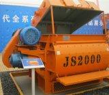Mezclador concreto para la venta, mezclador de cemento forzado (Js2000) de la alta calidad