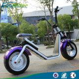 18 pulgadas neumáticos de dos ruedas 1000W Harley Fat Scooter eléctrico, Citycoco Scooter eléctrico