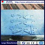 Estructura sencilla de acero ligero de construcción prefabricados