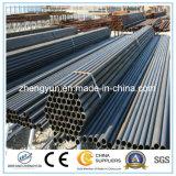 Труба ASTM A500 горячая окунутая гальванизированная стальная для столба загородки