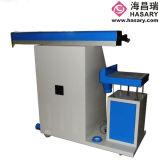 Laser botella de plástico máquina de la marca con el brazo giratorio (HL-CO2-60)