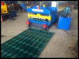 Rodillo esmaltado el acero de acero automático hidráulico más popular de la azotea de la hoja del azulejo del metal del color que forma la máquina