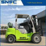 Chariot élévateur neuf du propane 3t LPG d'essence d'usine de la Chine