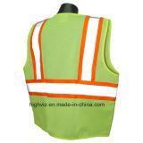 Veste elevada da segurança da visibilidade com ANSI07 (FR-005)