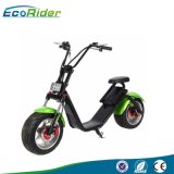 Ecorider 2017 성인을%s 원격 제어 전기 차량 60V 전기 스쿠터 Citycoco Ebike
