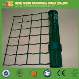 O PVC verde revestiu a curvatura de V que cerc o engranzamento, cerca do engranzamento de Holland