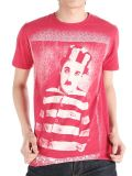T-shirt fait sur commande d'hommes d'écran d'impression de vente en gros drôle de modèle