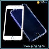 Het volledige Transparante Duidelijke Geval van de Telefoon TPU voor iPhone 6/6s plus