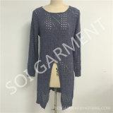 Оптовый способ повелительниц выдалбливая длинний свитер (SOI1795)