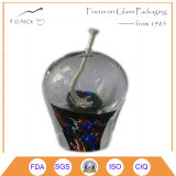 Lâmpada de petróleo de vidro do vintage em vários cores e projetos